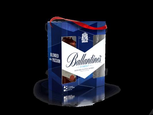 Balantine's finest viski u poklon pakiranju s dvije čaše