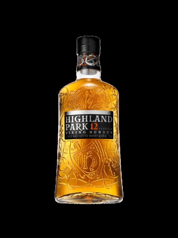 Highland Park 12 Whiskey boca