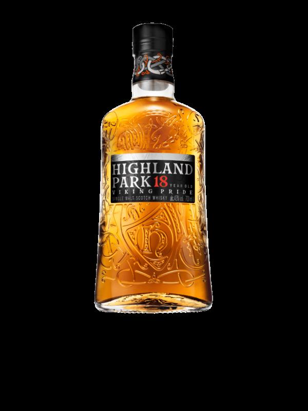 Highland Park whiskey 18 boca