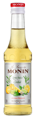 Monin Lime Juice sirup boca 0d 0,25L