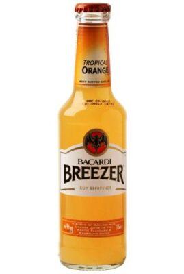 Bacardi Breezer Orange boca