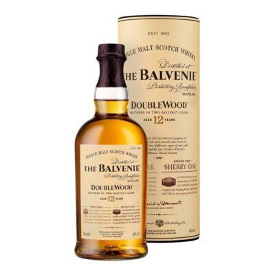 Balvenie 12 Y.O. double wood viski u boci od 0,7 i kutiji