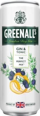 Greenalls Gin Tonic Mix limenka od 0,25L