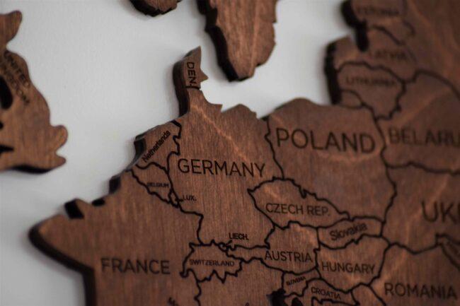 Pluteni prikaz Europe
