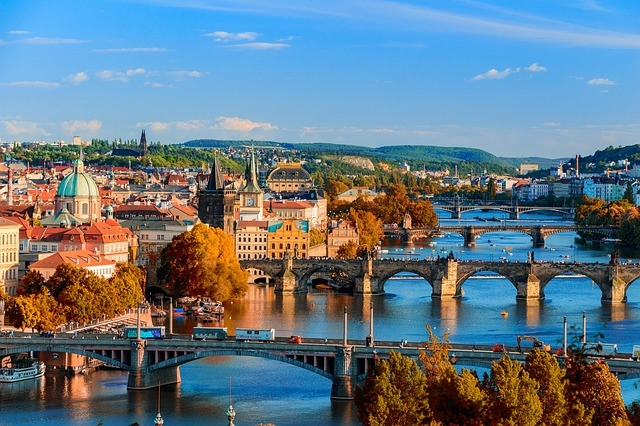 Mostovi u Pragu, Češka
